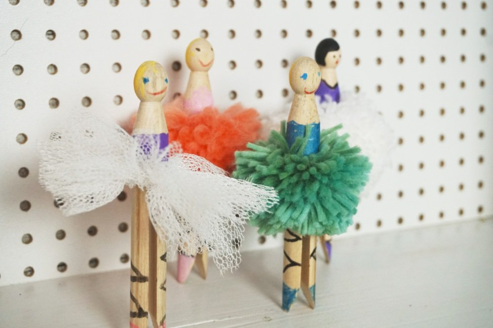 waescheklammer ballerina 2 1
