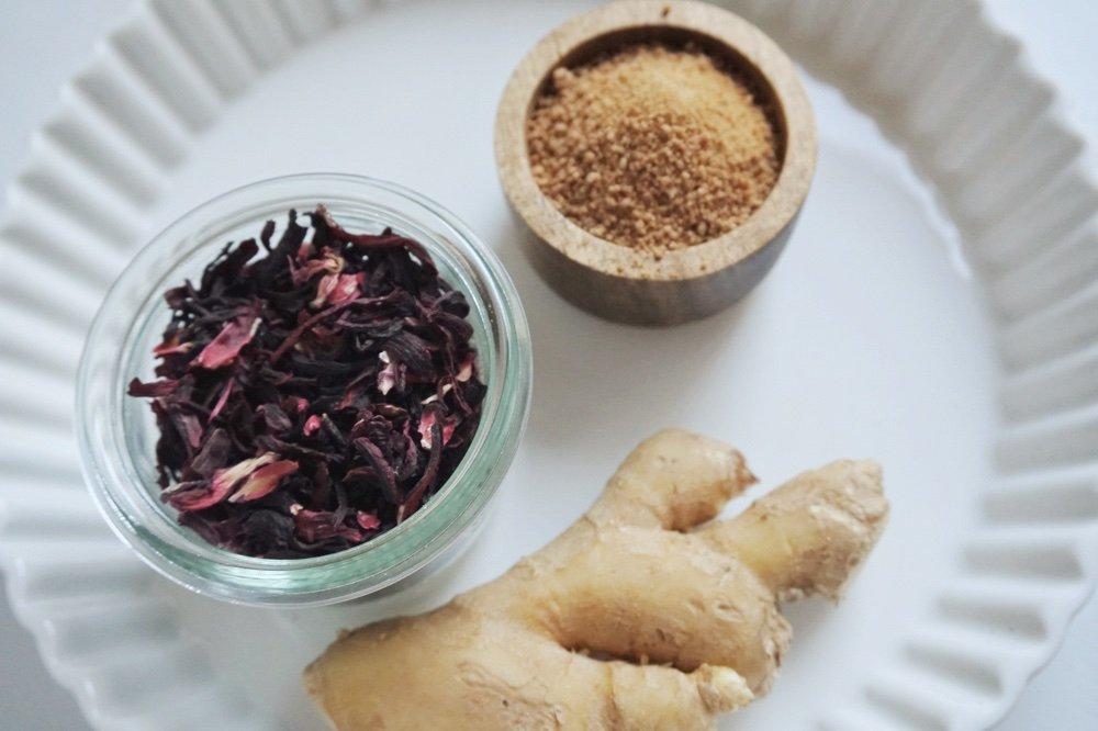 hibiskus ingwer sirup die kleine botin 1 1