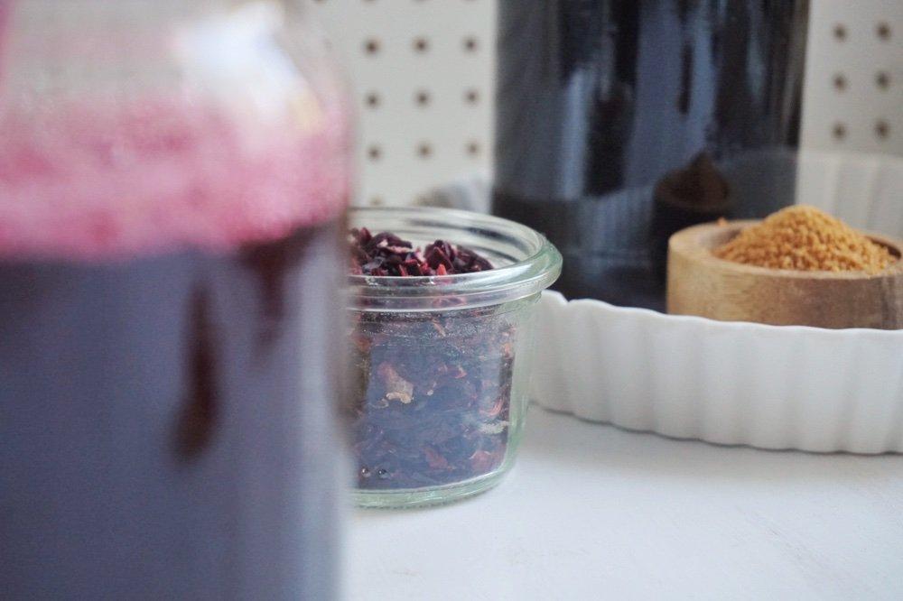 hibiskus ingwer sirup die kleine botin 5 1
