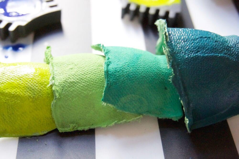 upcycling diy meerjungfrauen eierkarton die kleine botin 4 1