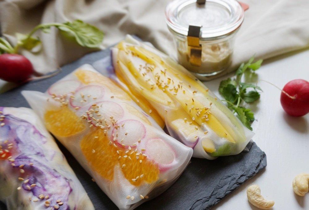 summer rolls rezept