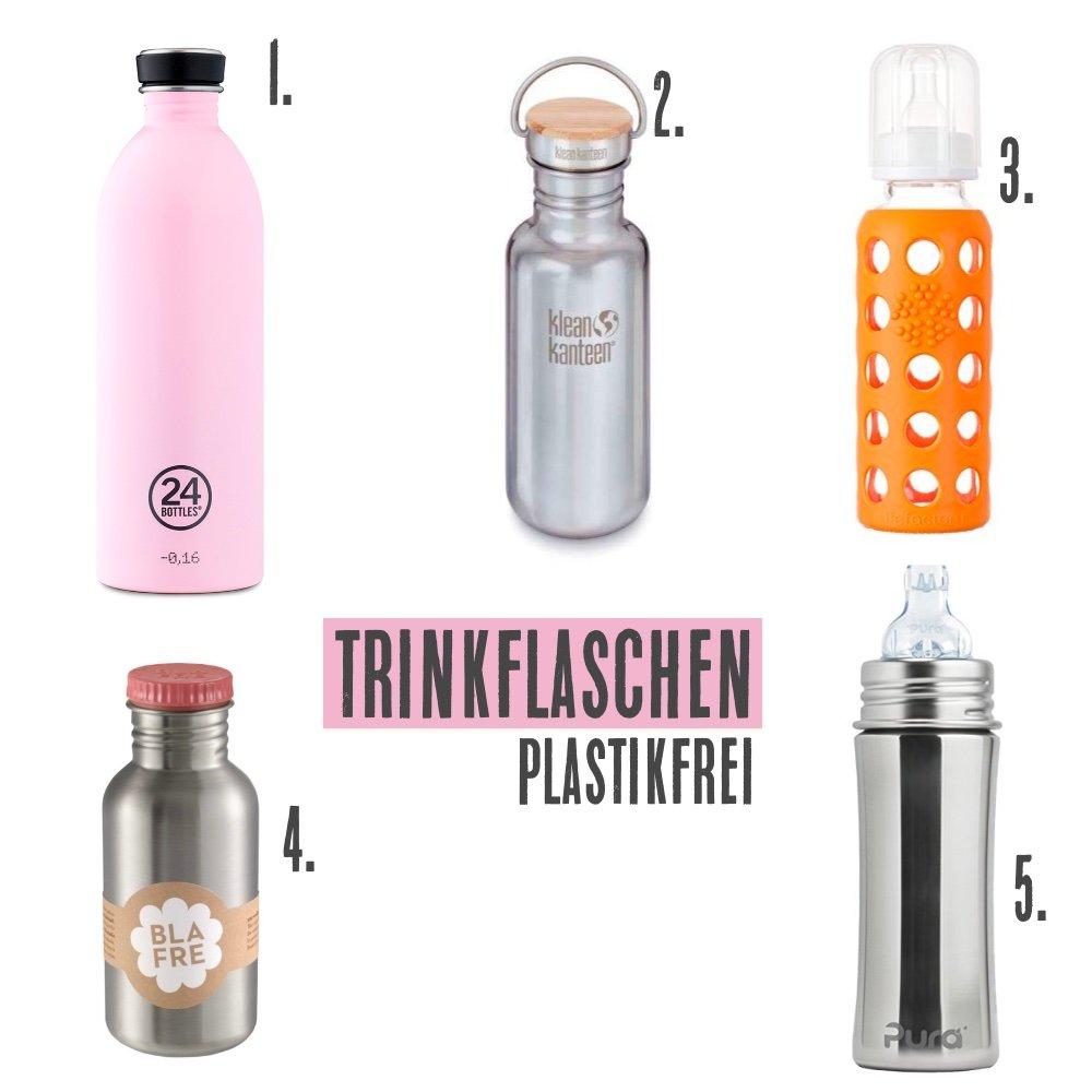 trinkflaschen ohne plastik die kleine botin 1