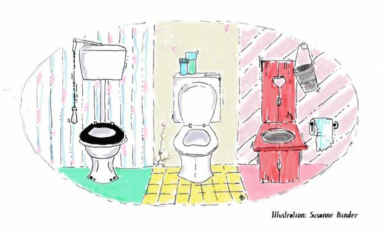 50 Shades of Toiletten | FREITAGSGESCHICHTEN