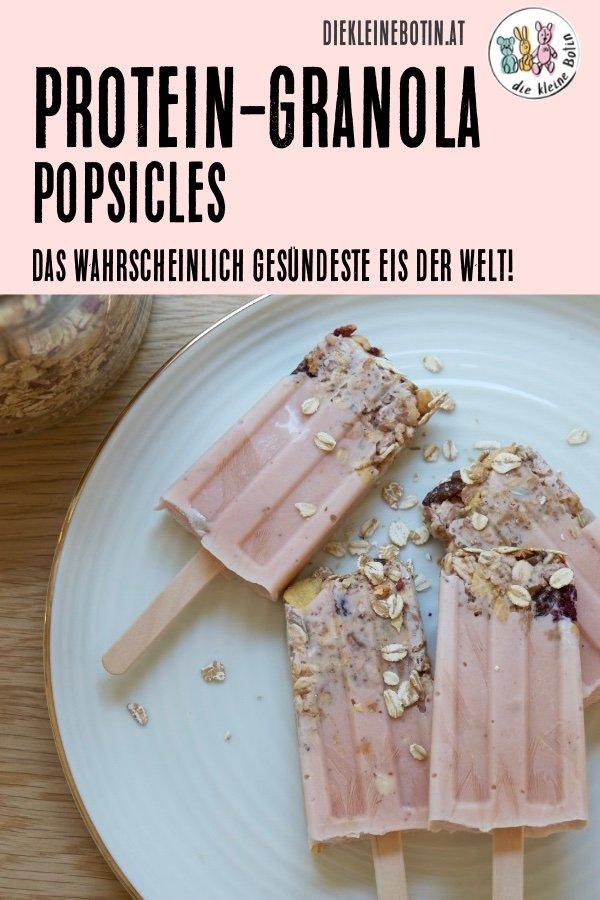 protein granola pops pinterest