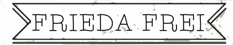 shop small label FRIEDA FREI 1