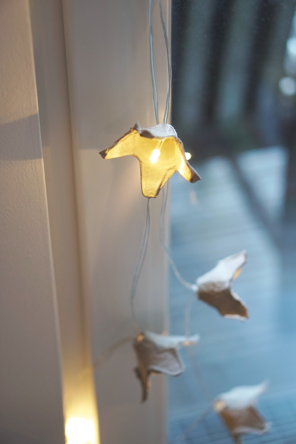 upcycling eierkarton lichterkette 1