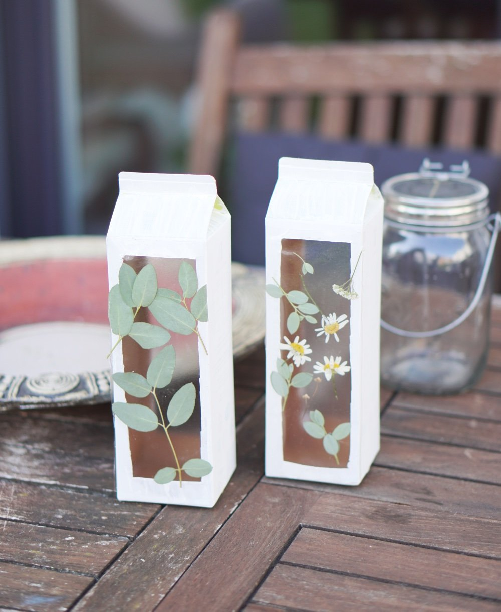 upcycling tetrapak laterne 2