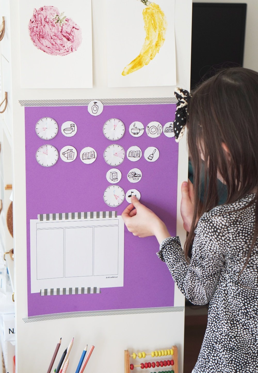 wochenplaner kinder homeschooling 1