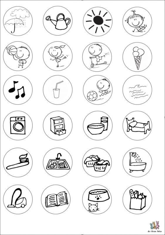 planer für kinder | tagesablauf und termine visualisieren