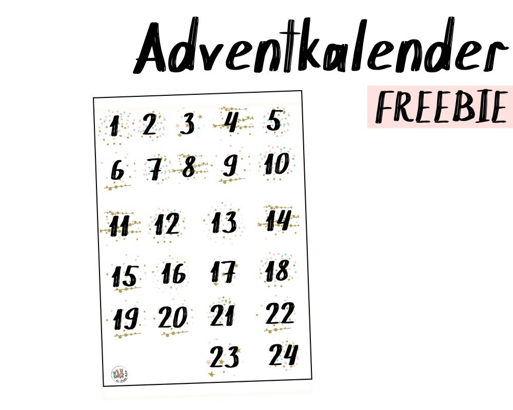 adventkalender zahlen 2018