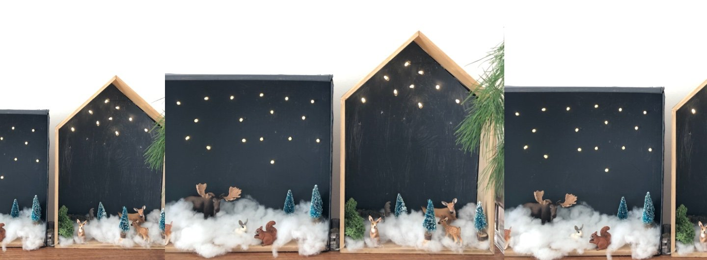 winterlandschaft karton diy header