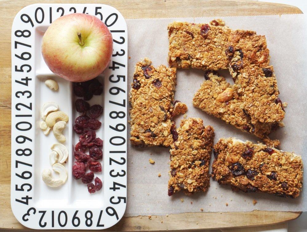 einfache snacks rezept muesliriegel 8