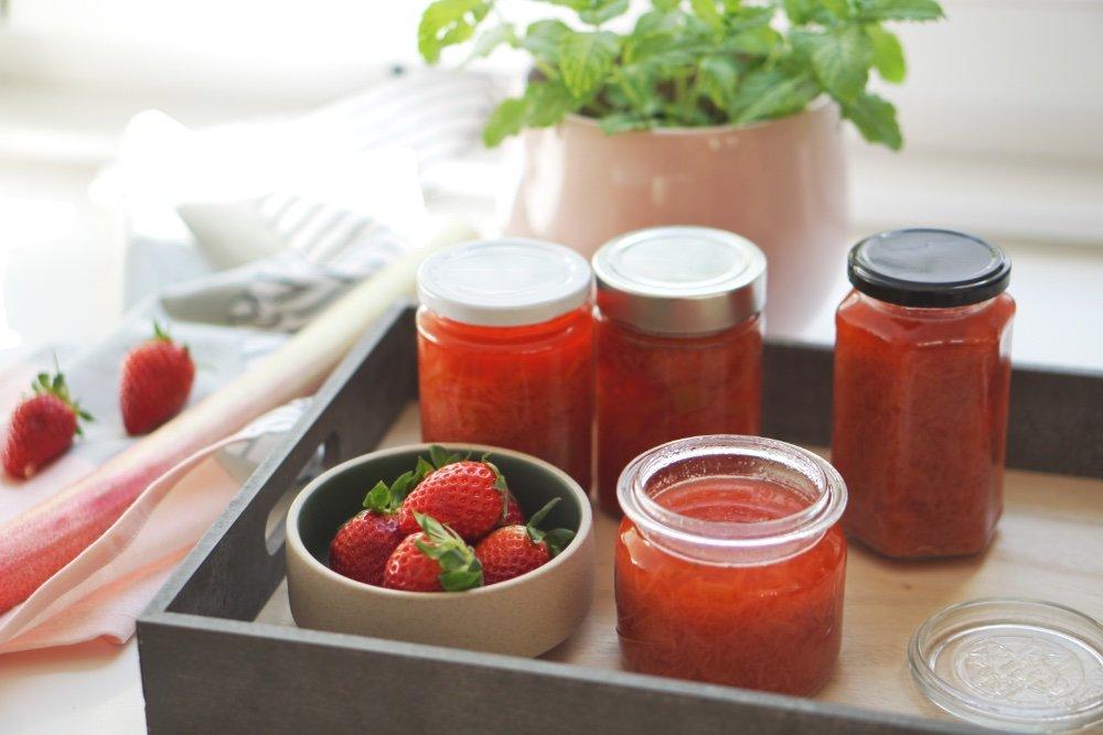 rhabarber erdbeer sirup 2 1