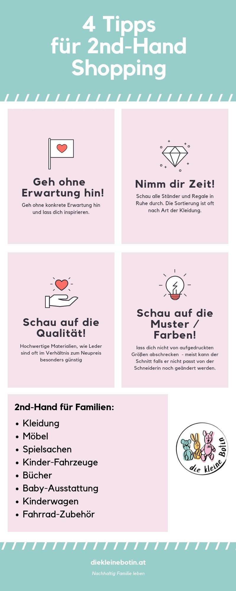 es muss nicht immer alles neu sein. | second hand guide für familien.