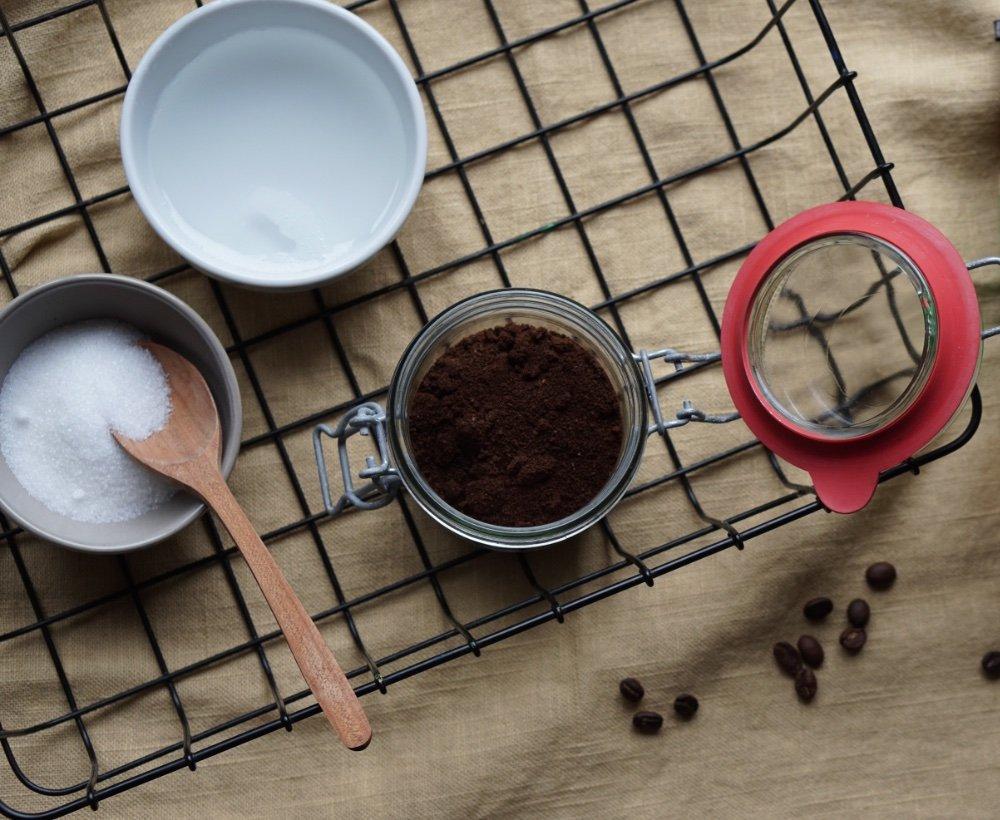 bio kaffee coffee scrub 10