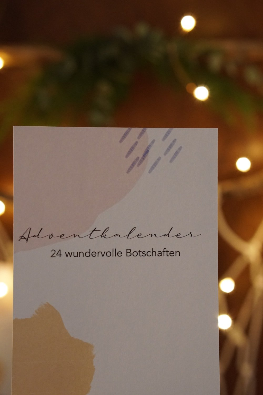 adventkalender mit worten