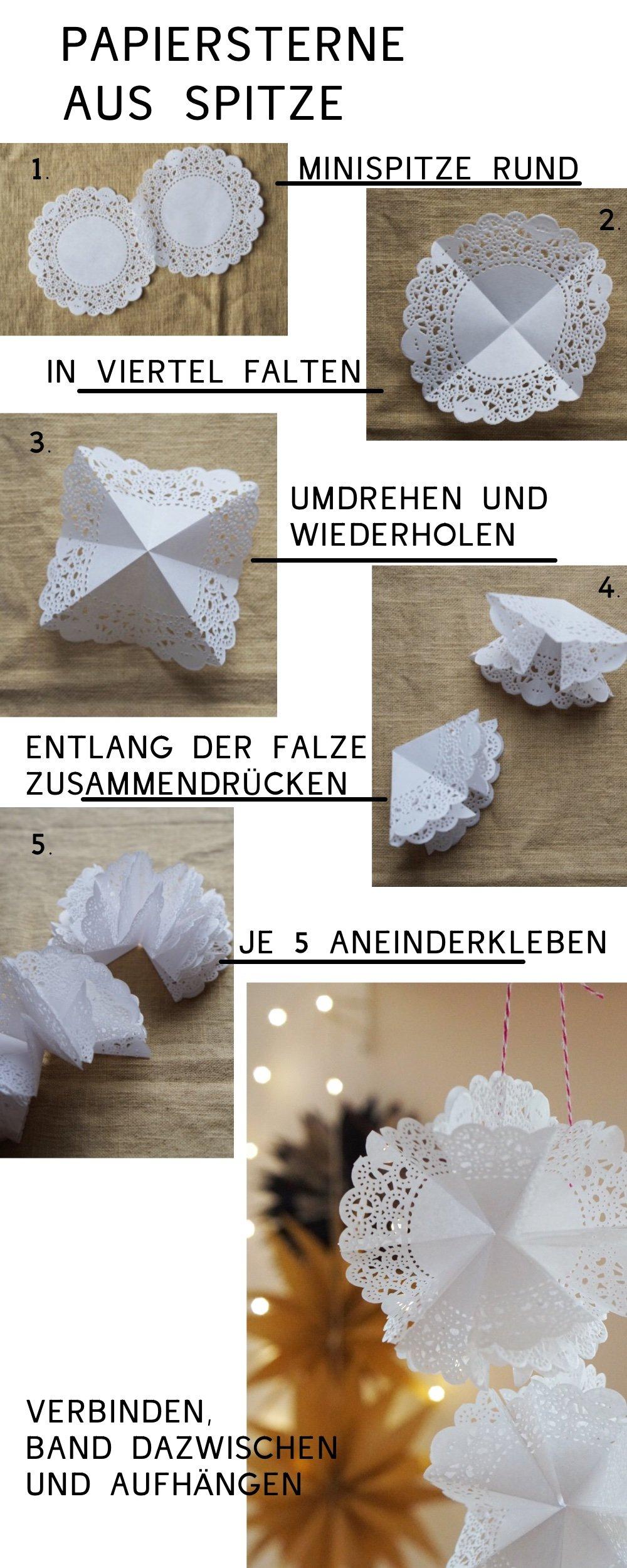 papierstern weiss anleitung 1