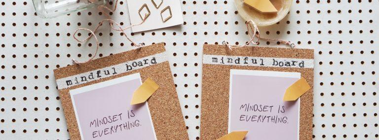 """""""My Mindful Board"""" der Reminder für ein positives Mindset"""