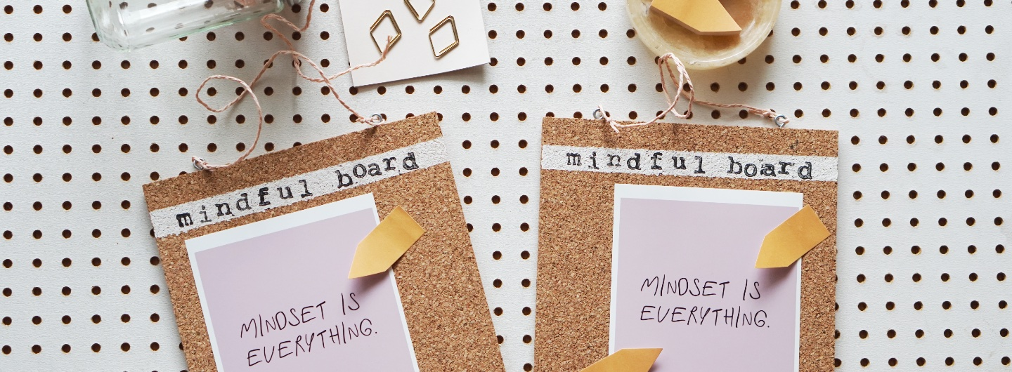 """My Mindful Board"" der Reminder für ein positives Mindset"