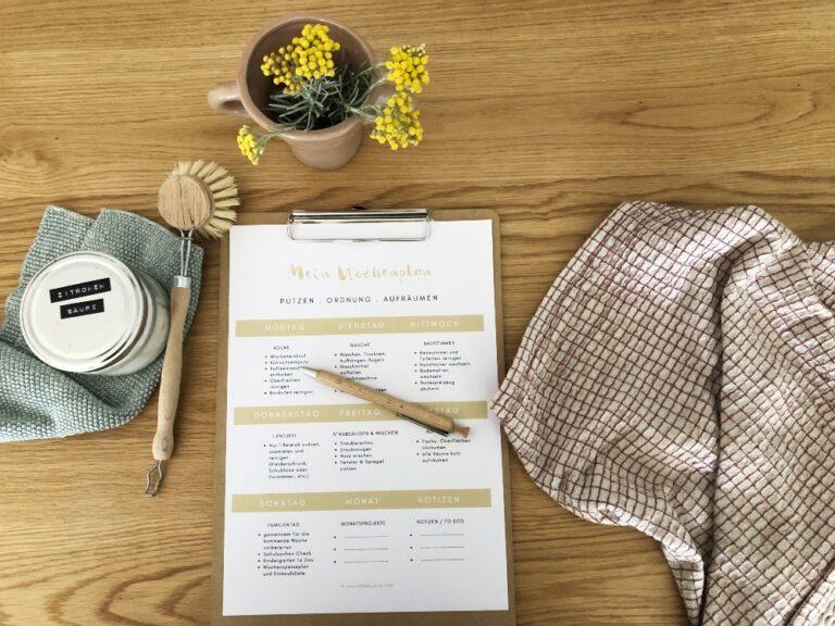 Meine neue Haushalts-Routine | Putzen mit Plan & den Staubsaugern von Vorwerk