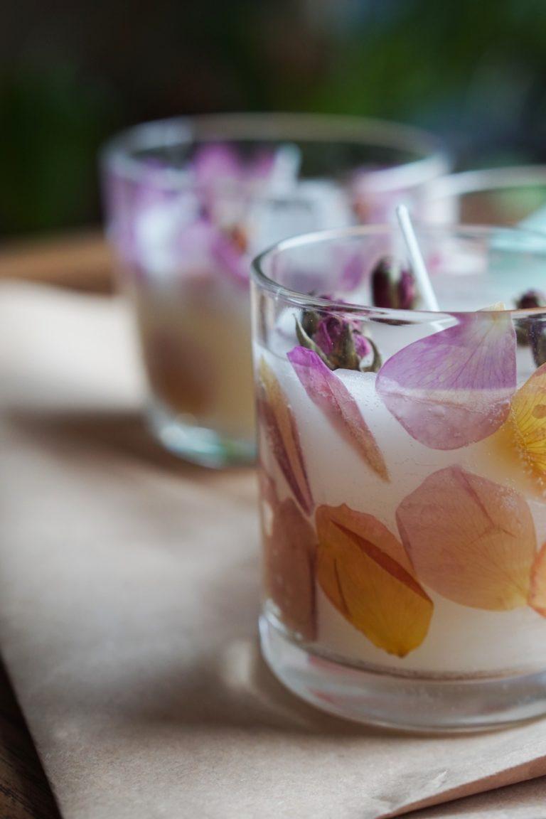 Blüten-Kerzen selber machen | Schönes Geschenk für liebe Menschen
