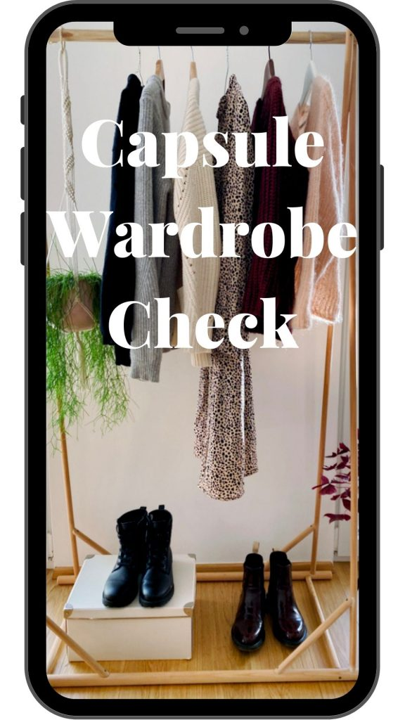 capsule wardrobe check