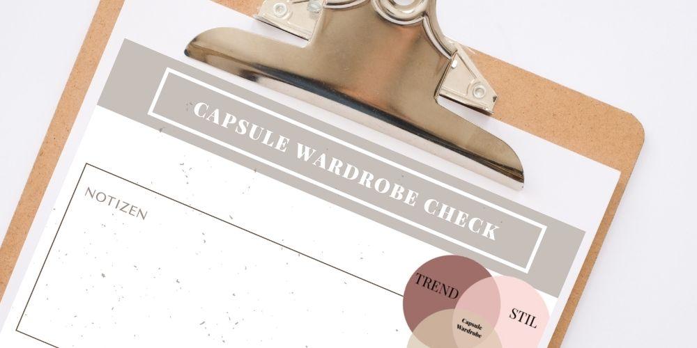 capsule wardrobe checkliste
