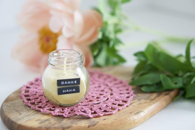 Persönliches Geschenk zum Muttertag: Duftkerzen selber machen